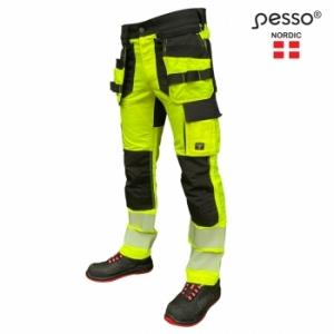 Darbo kelnės PessoURANUS Flexpro 135, HI-VIS geltona
